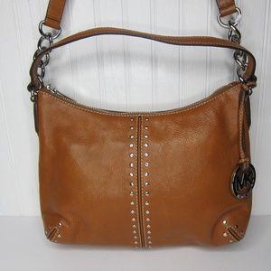 Michael Kors Astor Studded Shoulder Bag